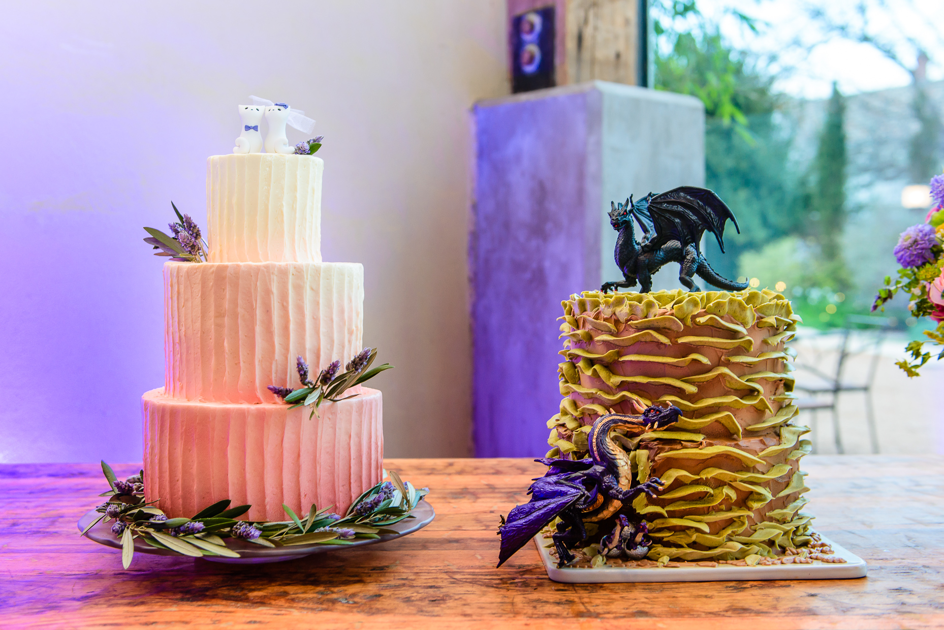 Austin-Wedding-Photographer-Barr-Mansion-cakes-dessert-creative-toppers