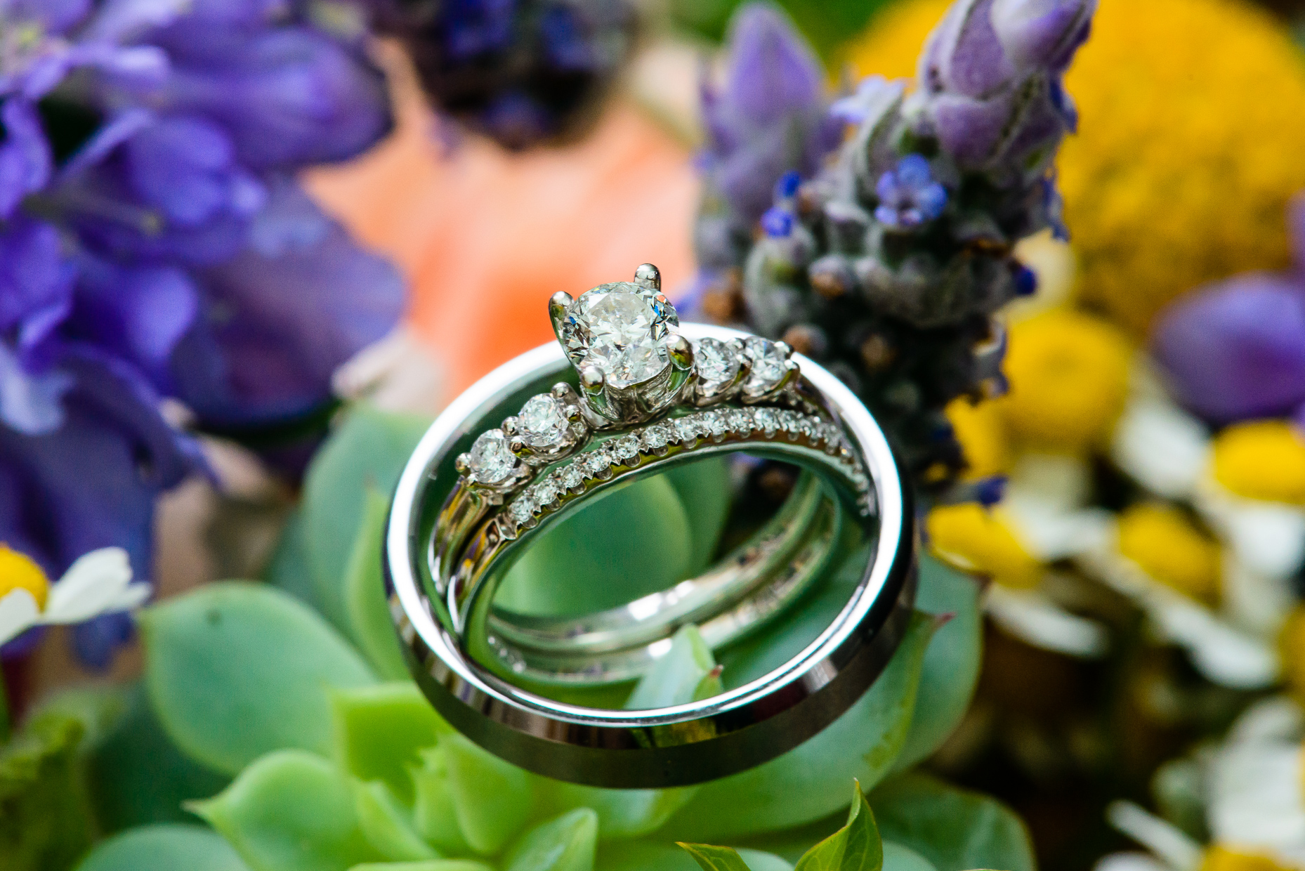 Austin-Wedding-Photographer-Barr-Mansion-diamond-ring-bands-bouquet