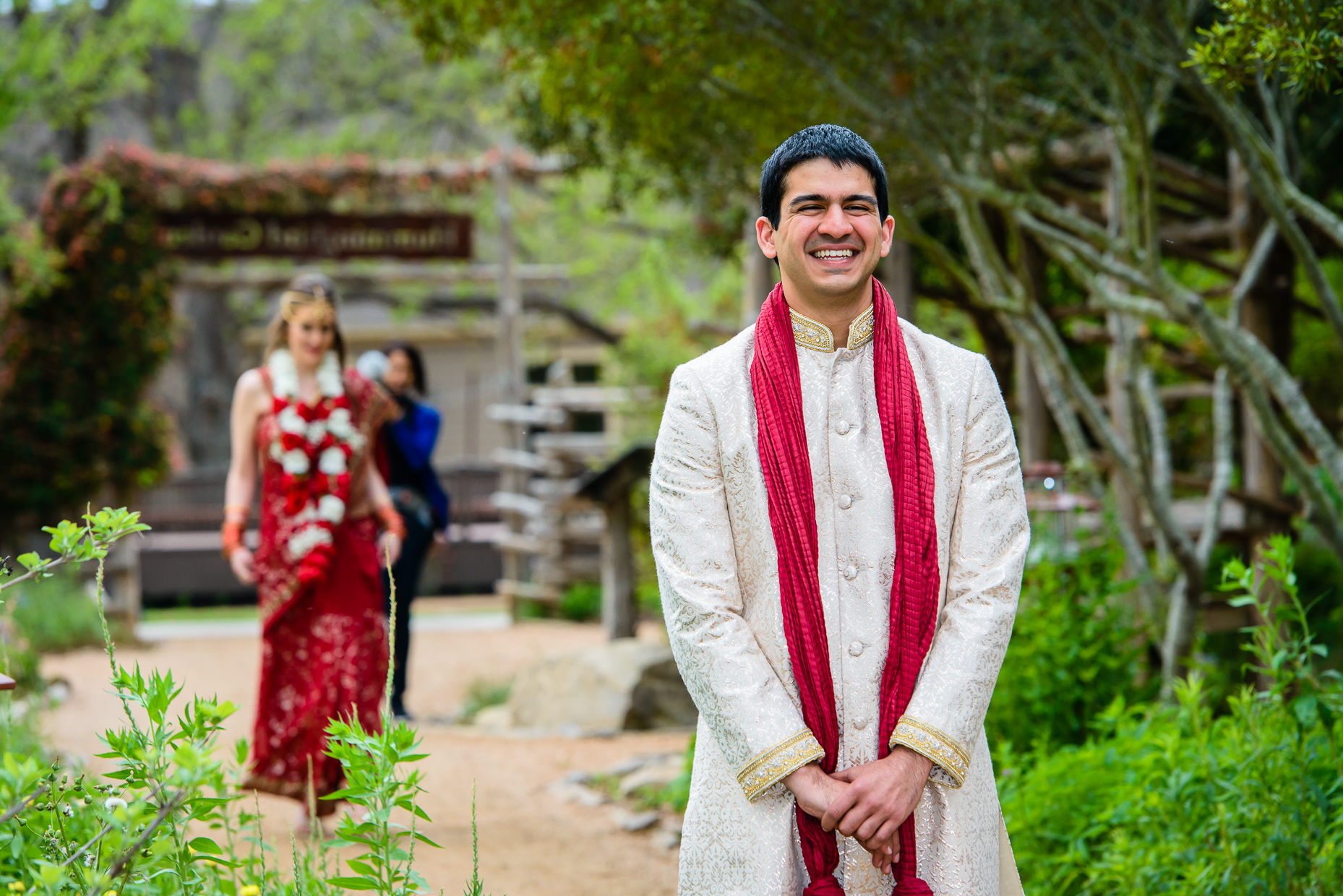 Austin-Wedding-Photographer-Lost-Pines-Hyatt-first-look-indian