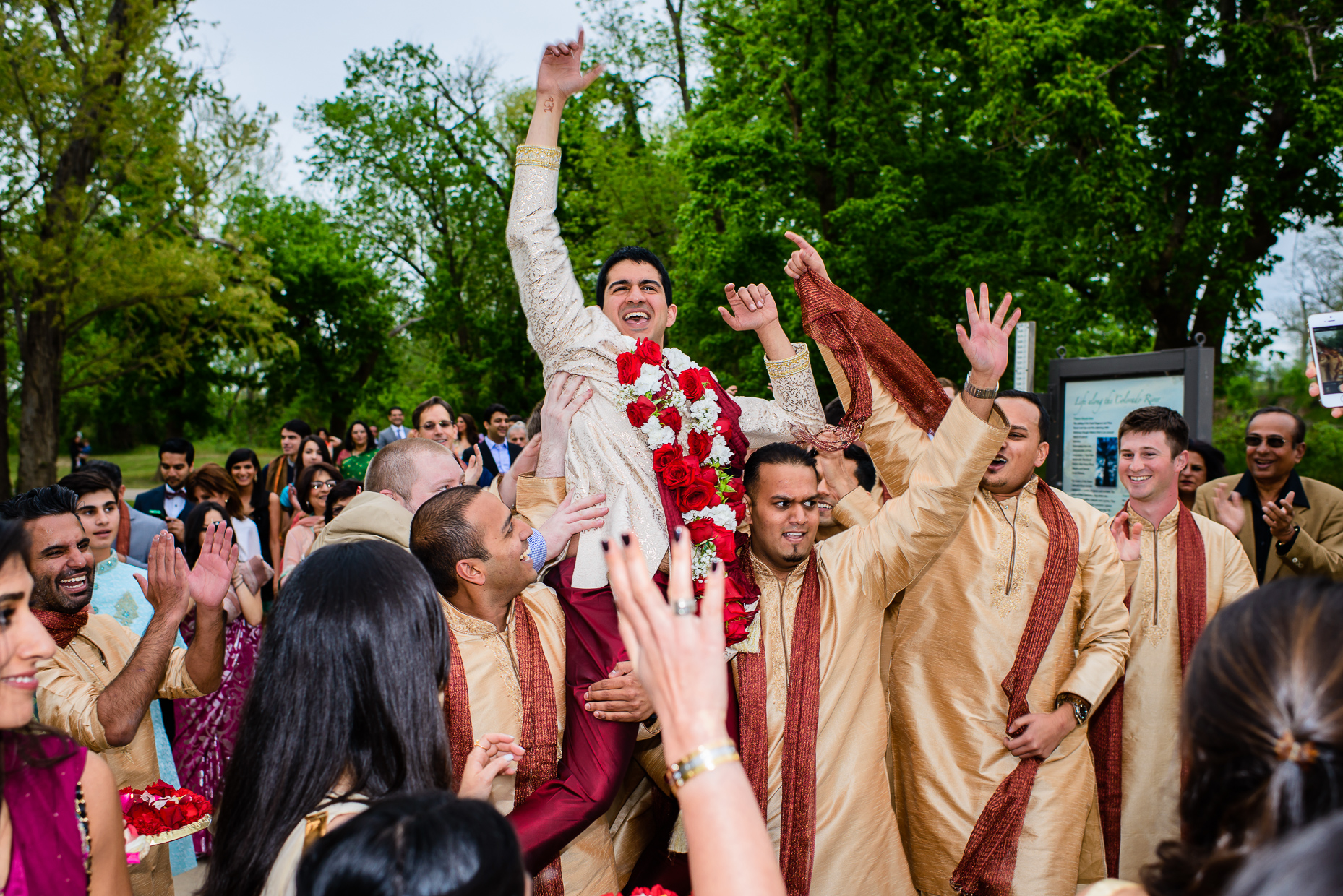 Austin-Wedding-Photographer-Lost-Pines-Hyatt-indian-baraat