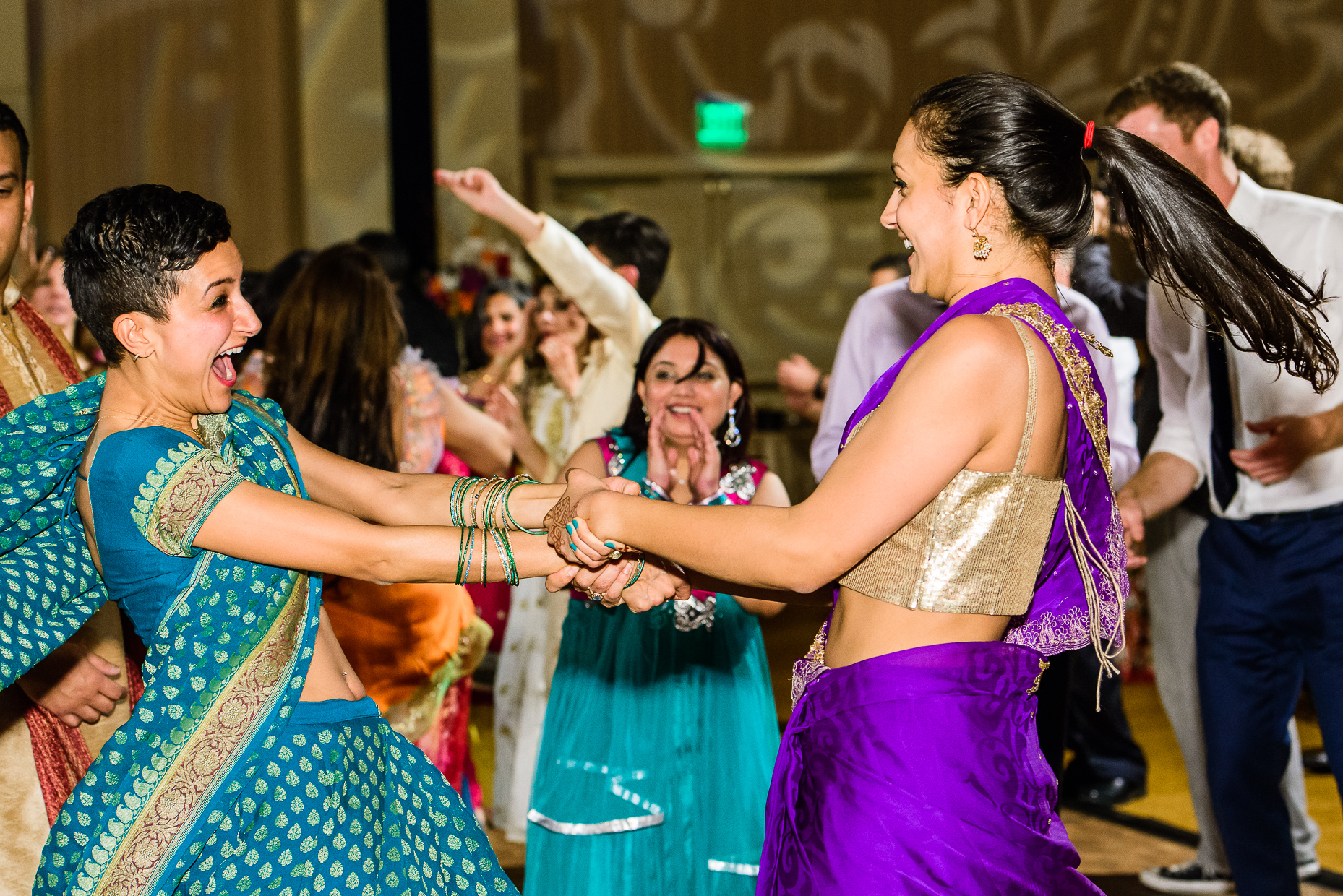 Austin-Wedding-Photographer-Lost-Pines-Hyatt-indian-reception-dancing
