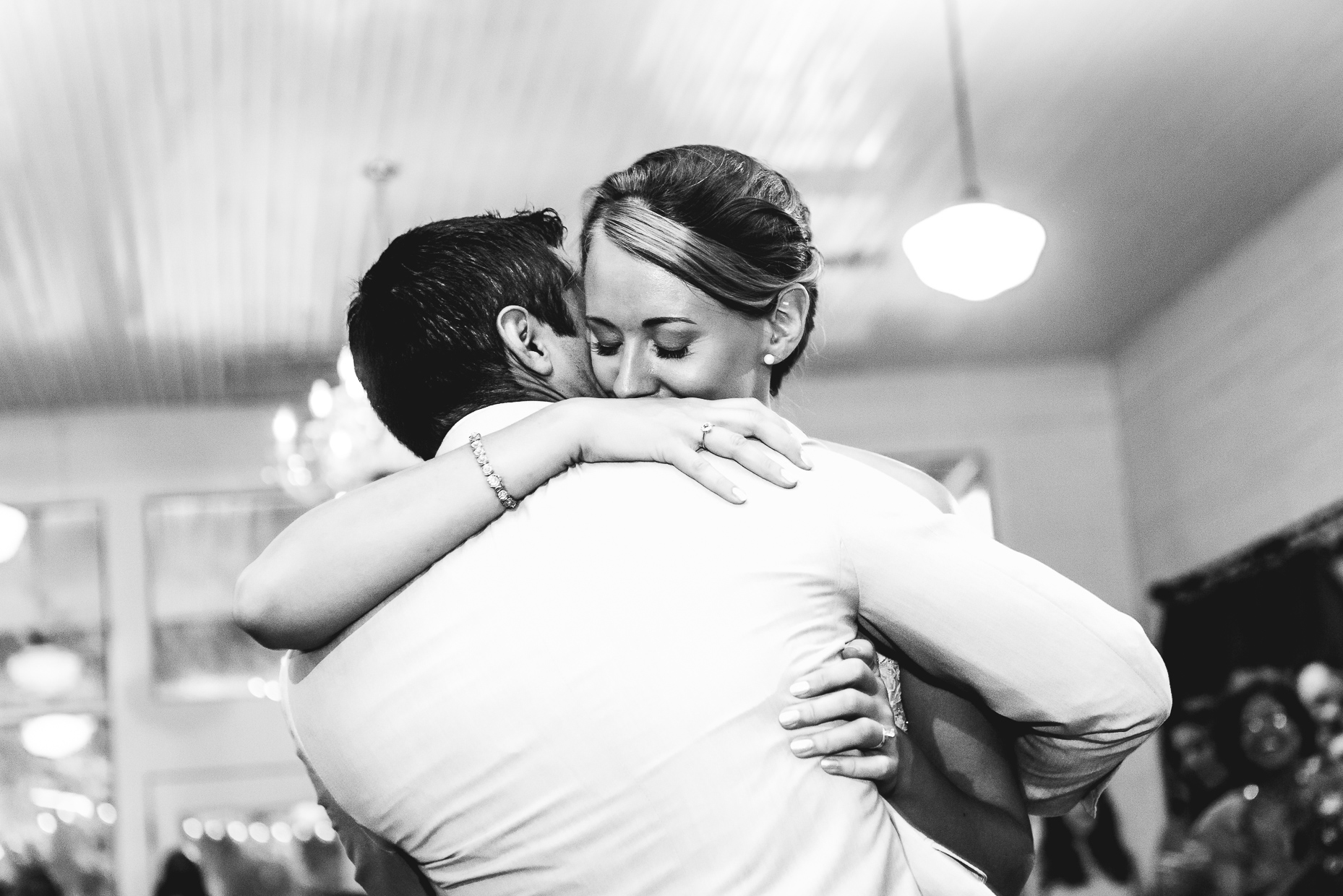Mercury Hall First Dance by Austin Wedding Photographer