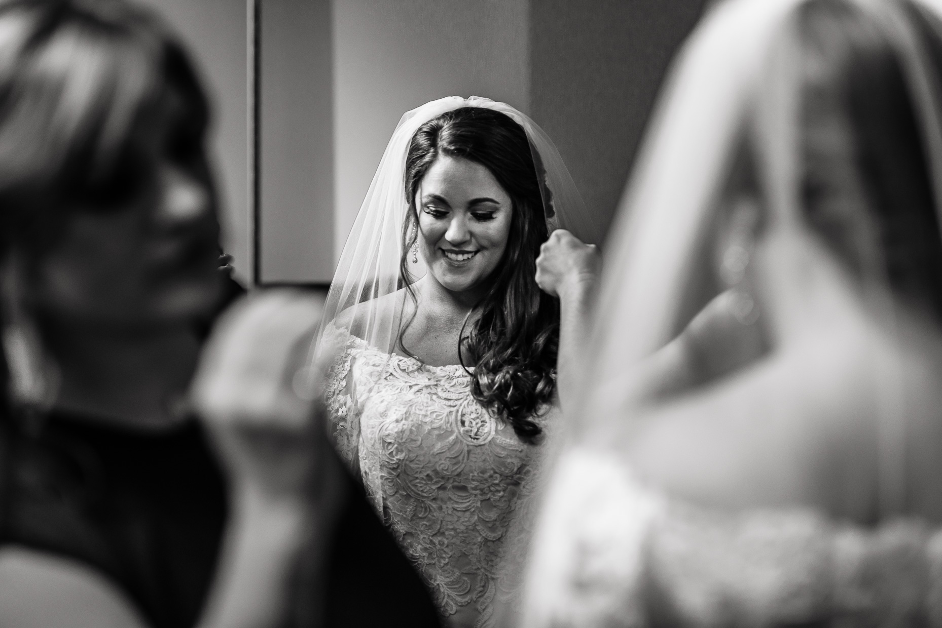 Austin-Wedding-Photographer-getting-ready-bride-veil-lace-dress-san-antonio