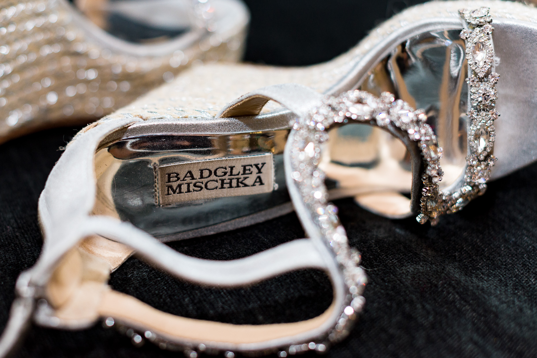 Austin-Wedding-Photographer-shoes-bride-badgley-mischka-rhinestone-silver-san-antonio