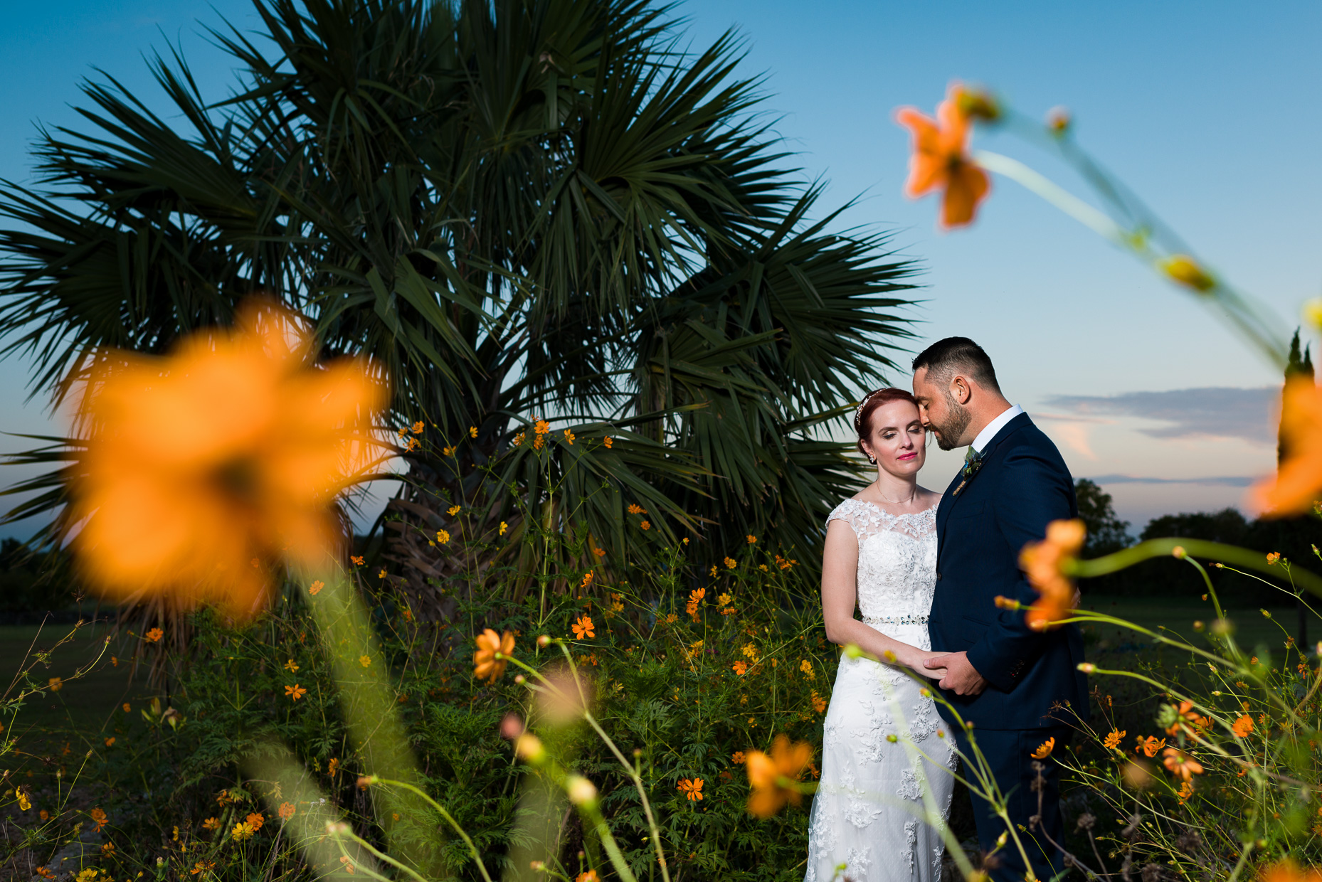 Austin-Wedding-Photographers-Sunset-Portrait-le-san-michele-texas