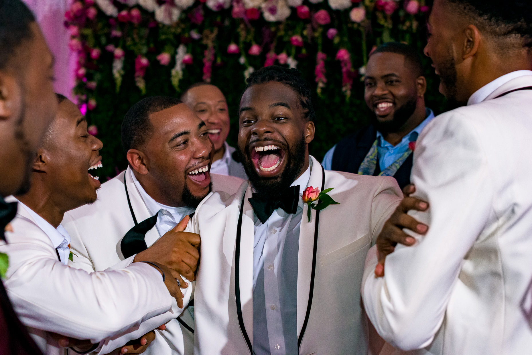 Austin-Wedding-Photographers-african-american-black-groom-sterling-events-center