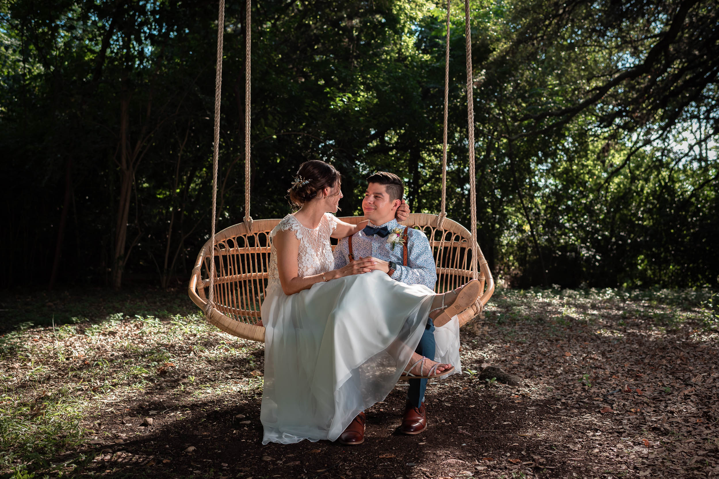 Austin-Wedding-Photographers-bride-summer-swing-romantic-Mercury-Hall