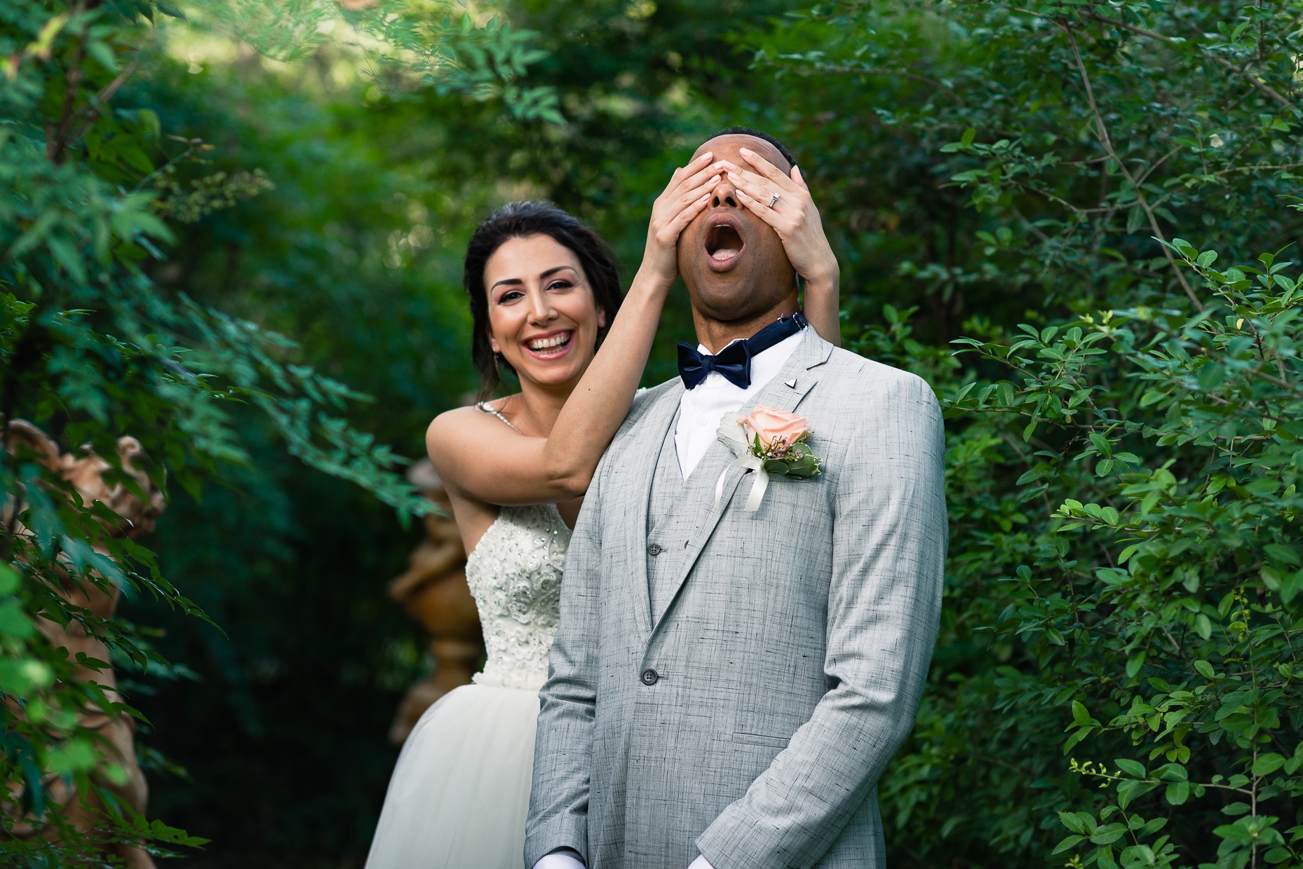 Austin-Wedding-Photographers-first-look-interracial-marriage-vista-seward-hill