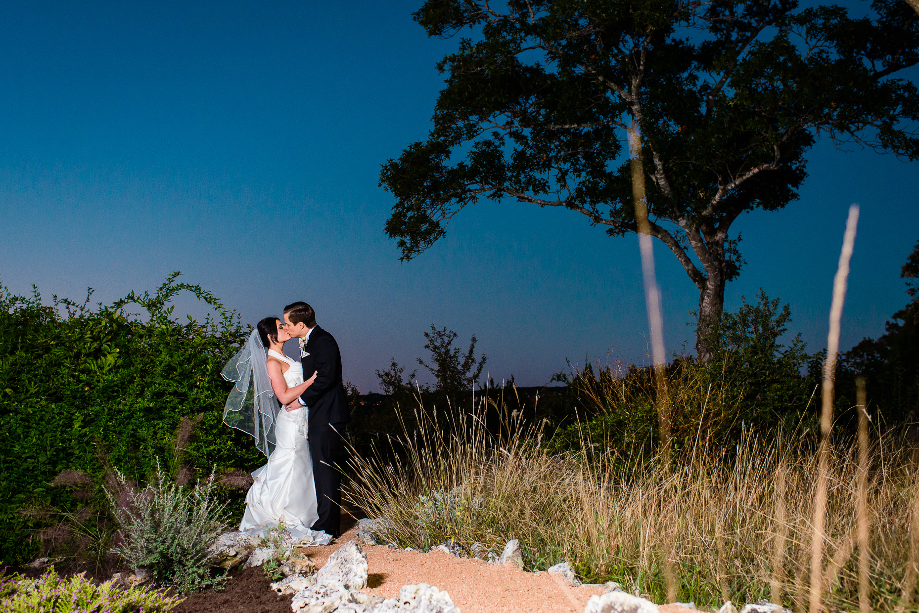 Austin-wedding-photographer-bride-groom-portrait-night
