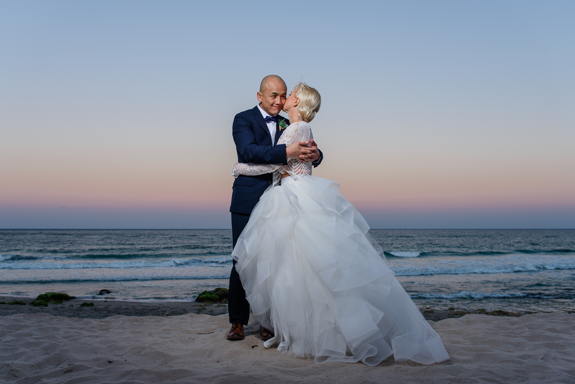 sunset-beach-wedding-portrait-austin-photographer-destination