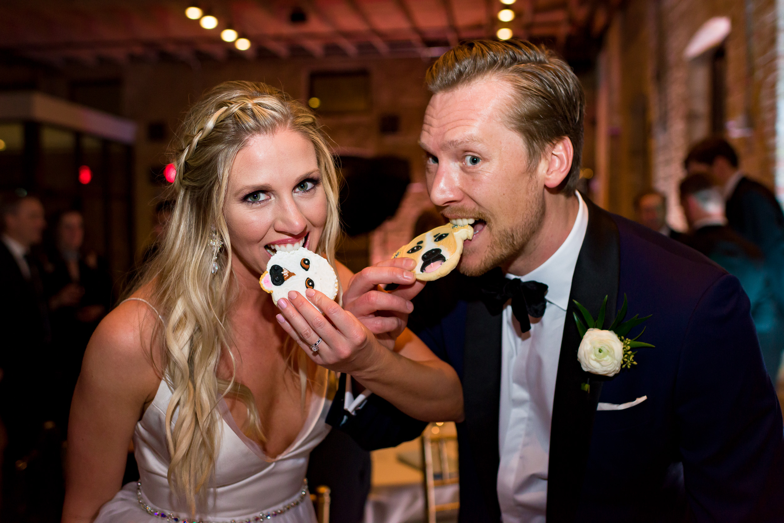 Austin-wedding-photographers-brazos-hall-downtown-cookies-dogs-puppy-bride-groom