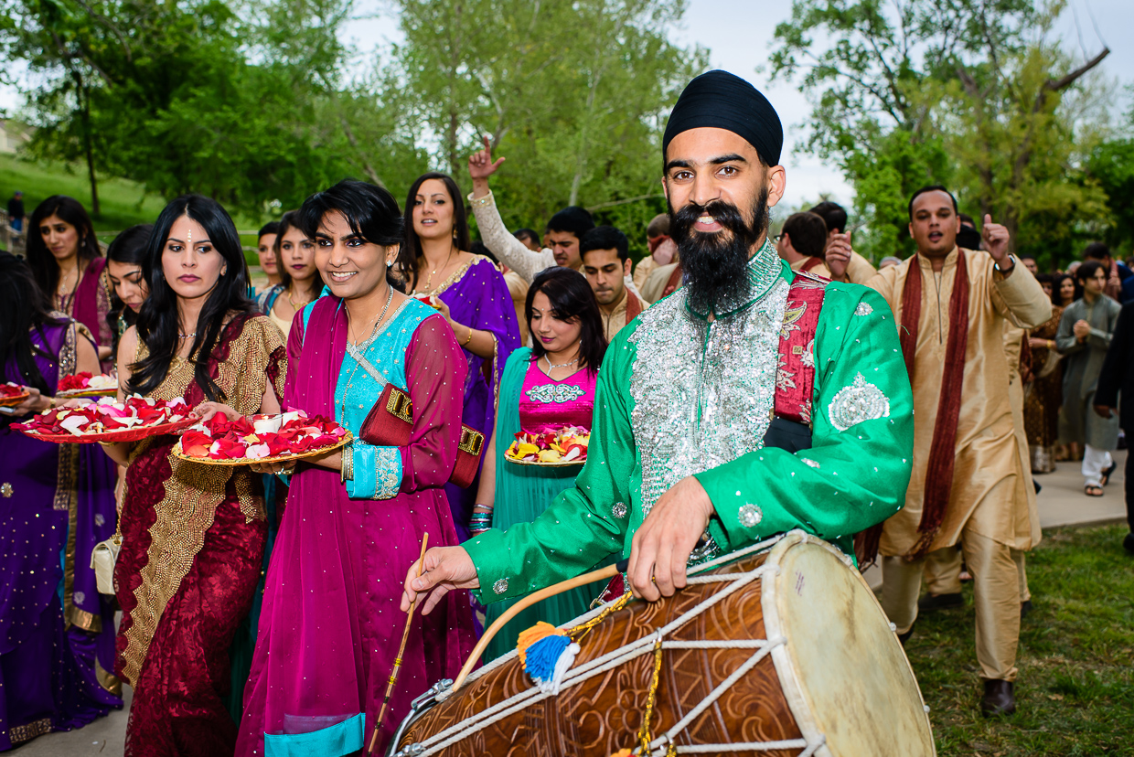 Indian wedding baraat at Hyatt Lost Pines, austin wedding photographer