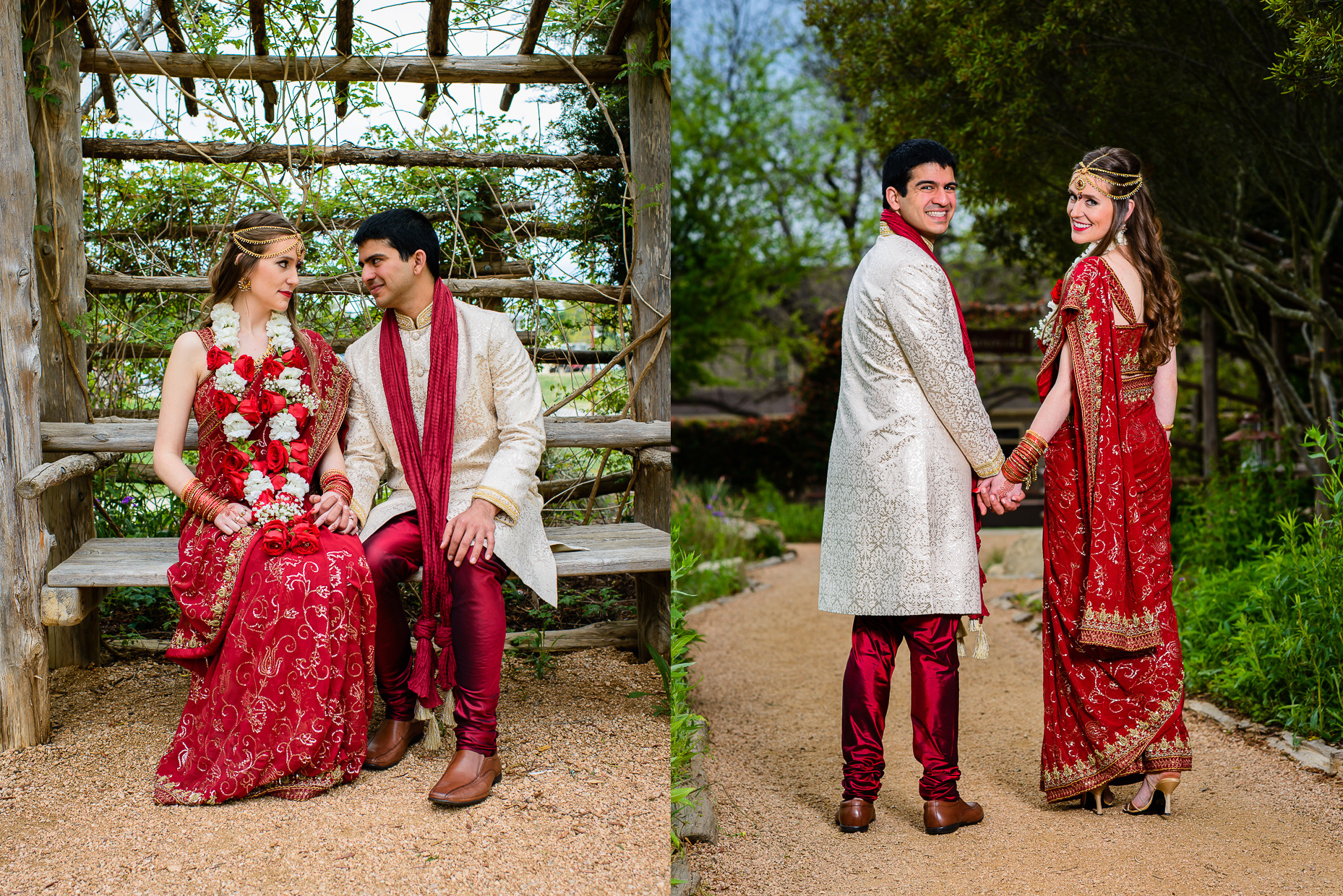 indian wedding portraits at hyatt lost pines austin photographer
