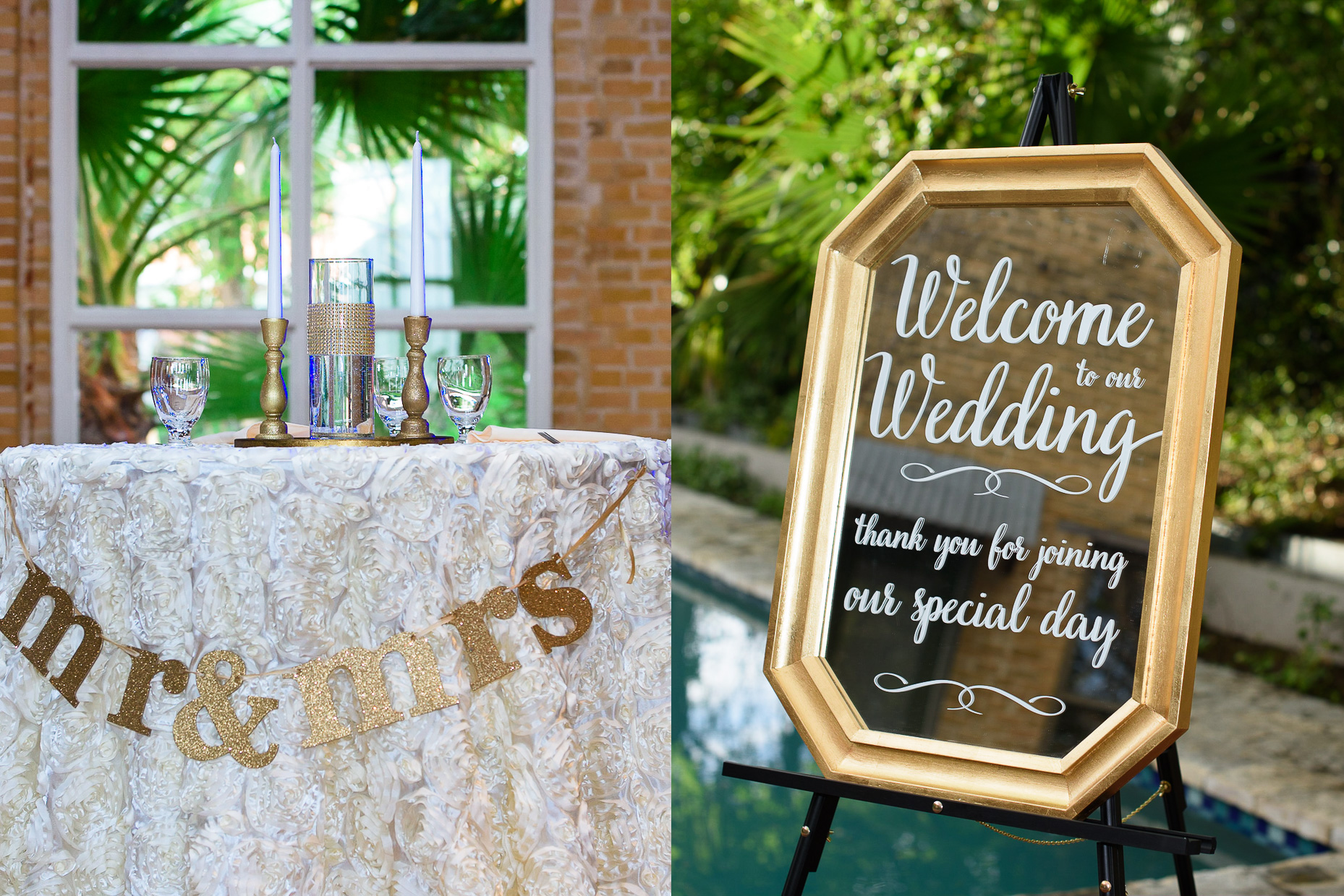 austin-wedding-photographer-details-mirror-signage-table-mrs