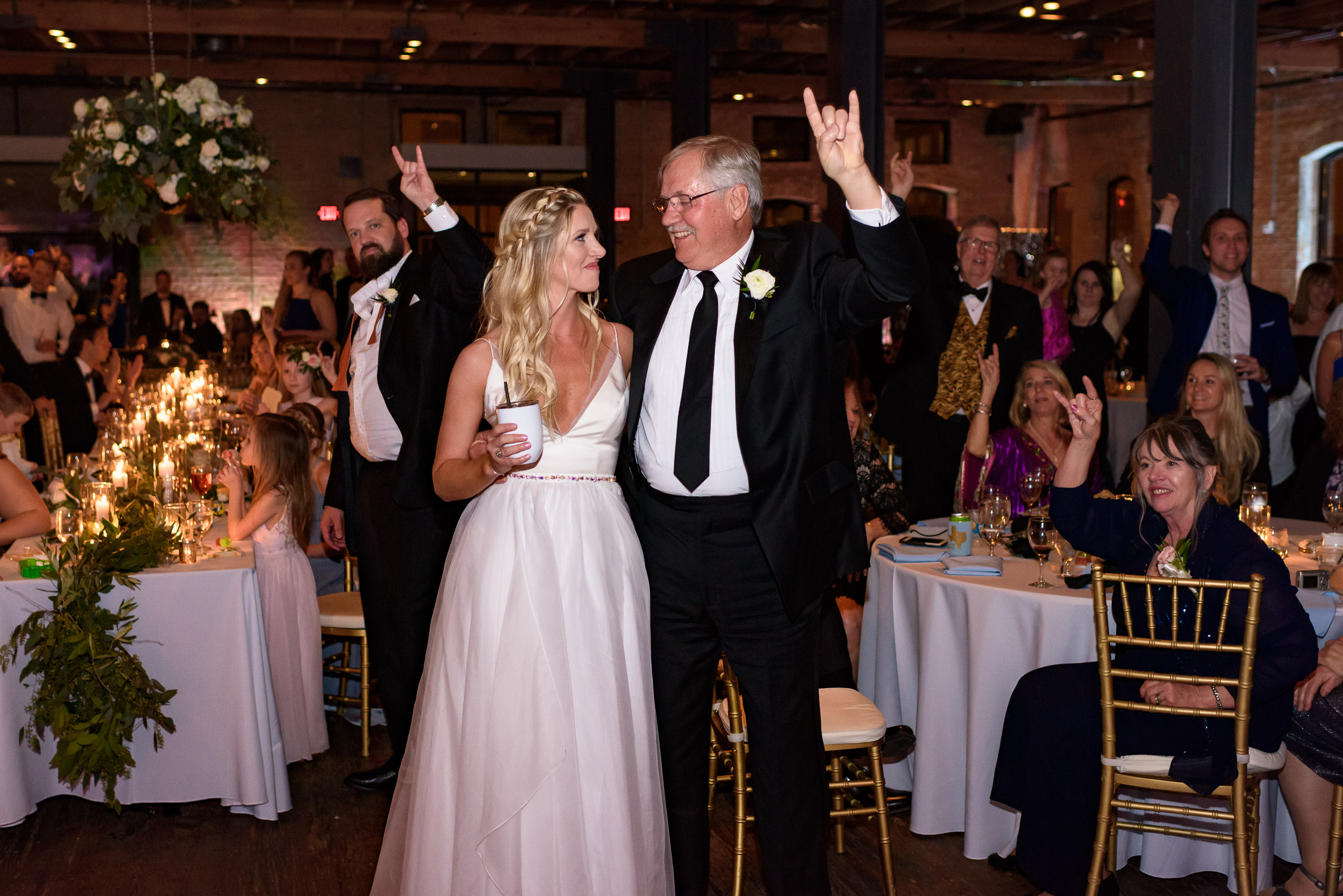longhorn-chant-UT-texas-bride-dad-Austin-wedding-photographers-brazos-hall-downtown