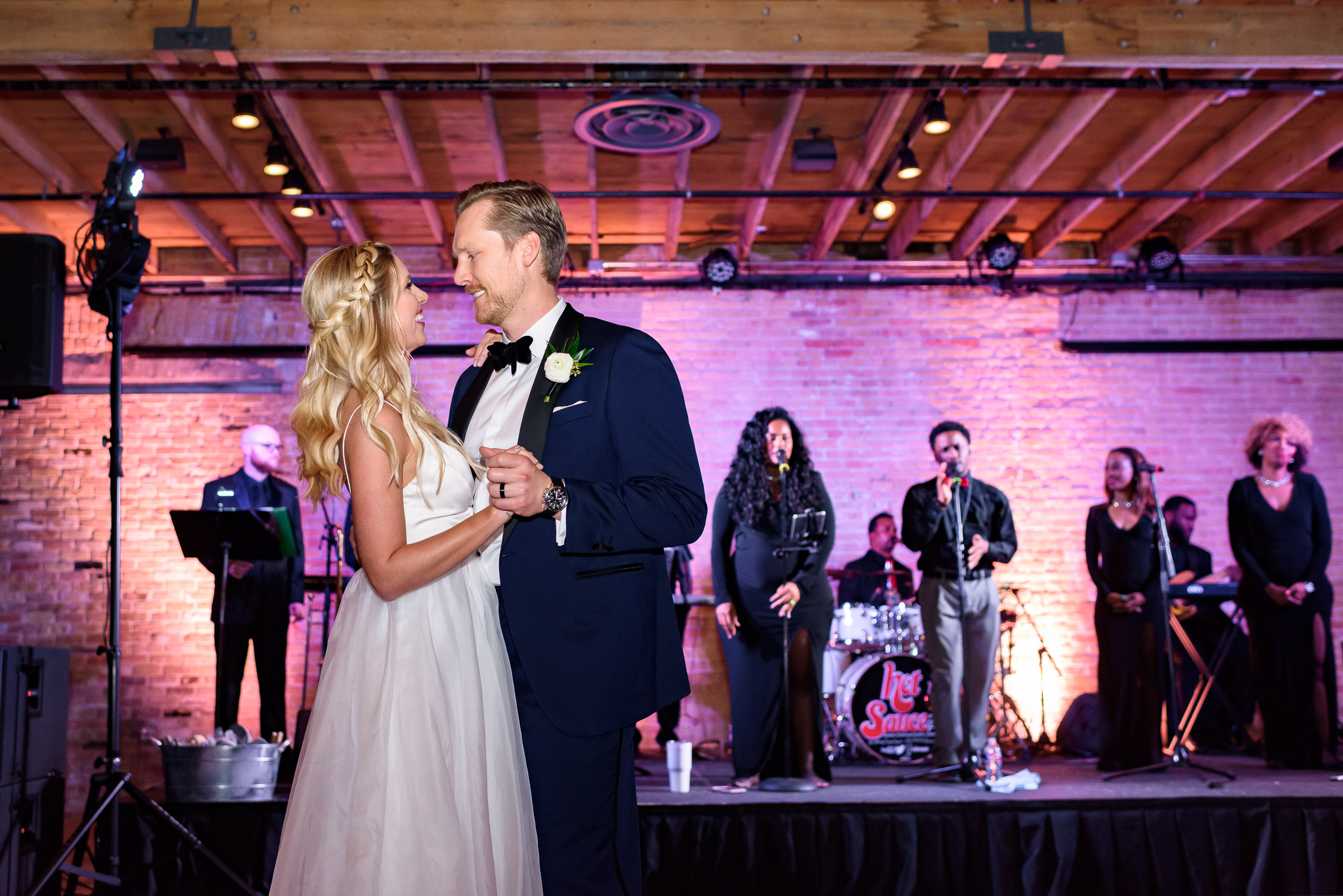 reception-first-dance-Austin-wedding-photographers-brazos-hall-downtown